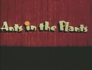 Ants in the Plants - Title card