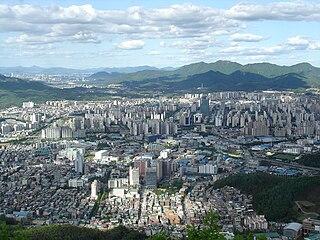 Anyang, Gyeonggi Specific city in Sudogwon, South Korea