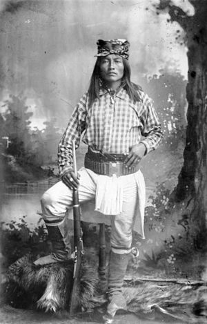 Chiricahua - Ba-keitz-ogie (Yellow Coyote), U.S. Army Scout