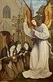 Aparição de um Anjo às Santas Clara e Inês de Assis e Coleta de Corbie Oficina de Quentin Metsys.jpg
