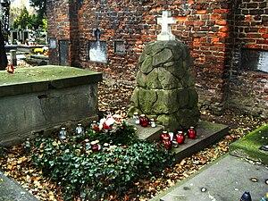 Apollo Korzeniowski - Korzeniowski's grave, Rakowicki Cemetery, Kraków
