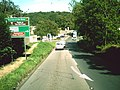 Approaching the traffic lights - geograph.org.uk - 1483289.jpg