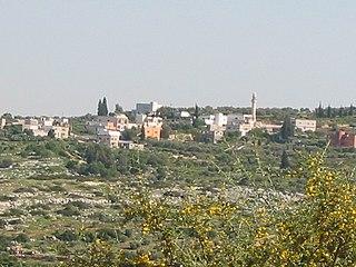 Araqah Municipality type D in Jenin, State of Palestine