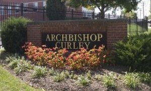 Archbishop Curley High School - Capital Campaign efforts have improved the campus of the school