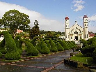 Zarcero (canton) - Image: Arches of Heaven in Zarcero, Costa Rica
