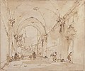 Architectural Capriccio- Vaulted Passageway Leading to a Square MET 37.165.83.jpg