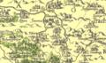 Aretinova mapa Čech — výřez Klatovska.png