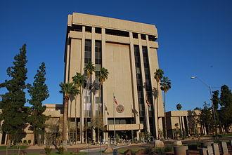 Government of Arizona - The Arizona State Capitol Executive Tower in Phoenix