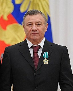 Russian businessman and oligarch