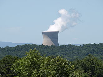 Arkansas Nuclear One - Image: Arkansas Nuclear One cooling tower