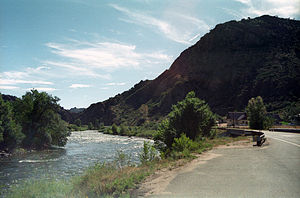 Cotopaxi, Colorado - The Arkansas River in Cotopaxi