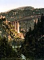 Arlberg Railway, Trisanna Viaduct and Castle Wiesberg, Tyrol, Austro-Hungary, ca. 1895.jpg