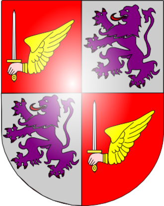 Marquis of Viana - Coat of Arms of the Manoel family, Marquesses of Viana.