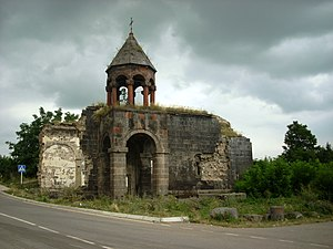 Armenia,Lori,Gyulagarak, Church.JPG