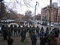 Armenian Presidential Elections 2008 Protest Mar 21 - Myasnikian Square - riot police.jpg