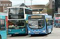 Arriva Guildford & West Surrey 3732 GN54 MYP and 6403 GN04 UDS.JPG