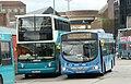 Arriva Guildford & West Surrey 3732 GN54 MYP and 6403 GN04 UDS.JPG