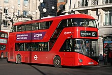 Arriva London LT326 on Route 137, Marble Arch (16070060065).jpg