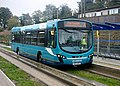 Arriva bus at Stanton Road bus stop (geograph 3716836).jpg