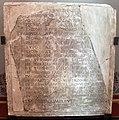 Arte romana, frammento di elogio funebre per avilus teres, auriga del circo di caligola, 100-150 dc ca..JPG