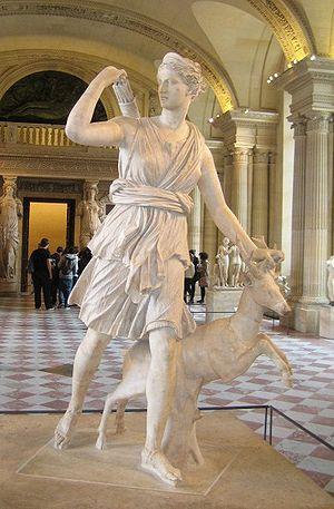 Nederlands: Artemis (Louvre Paris)