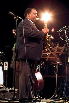 Blythe at the North Sea Jazz Festival with The Leaders, 1989