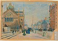 Arthur Clifton Goodwin - Dartmouth Street from Copley Square - 1984.915 - Museum of Fine Arts.jpg