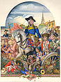 Arthur Szyk (1894-1951). Washington and His Times, Washington with His Soldiers - Washington the Soldier (1930), Paris.jpg