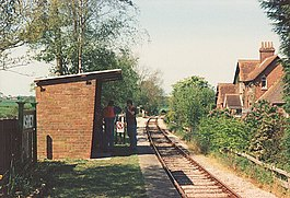 Ashey station, Isle of Wight Steam Railway - geograph.org.uk - 47245.jpg