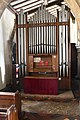 Ashwell, St Mary's church, Organ (41032956345).jpg