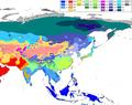 Asia Köppen Map.png