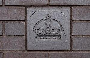 "Birmingham Assay Office - One of the ""hallmark"" bricks"