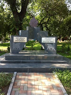 Assyrians in Armenia - Memorial to the Assyrian Genocide, Yerevan