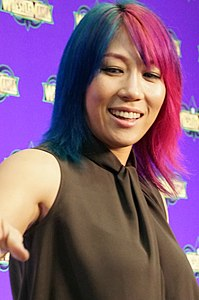 Asuka WrestleMania Axxess April 2018.jpg