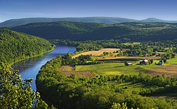 The Susquehanna River near French Azilum