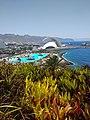 Auditorio de Tenerife desde Palmetum.jpg