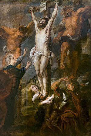 Christ crucified between two robbers