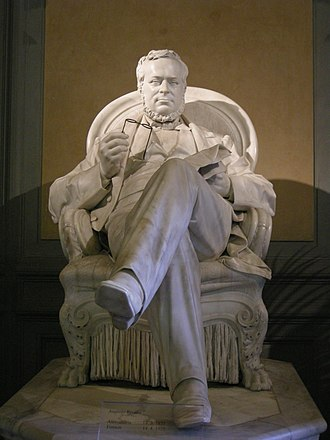 Augusto Rivalta - Statue of Camillo Cavour