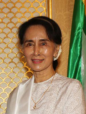 Aung San Suu Kyi - Image: Aung San Suu Kyi 2016
