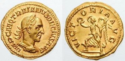 Aureus-Trajan Decius-RIC 0029a