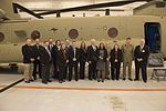 Australian and US military officals with a CH-47F Chinook.jpg