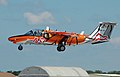 Austrian Air Force Saab 105 Oe arrives for RIAT Fairford 10thJuly2014 arp.jpg