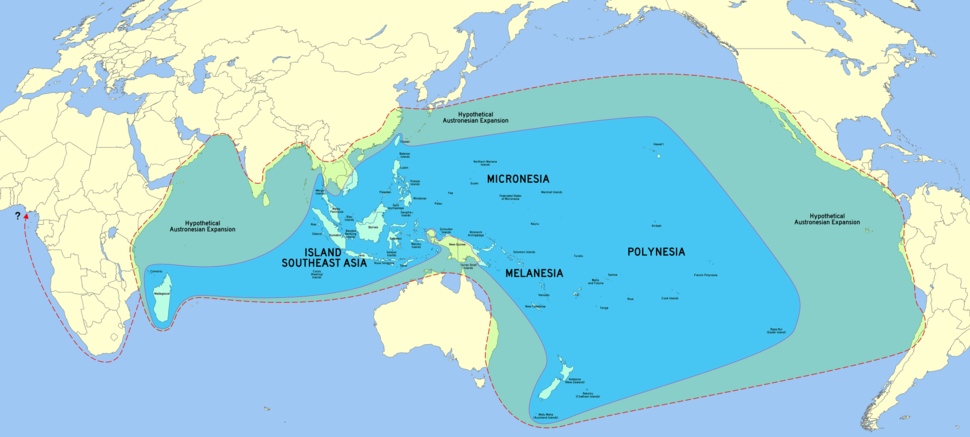 Austronesia with hypothetical greatest expansion extent (Blench, 2009) 01