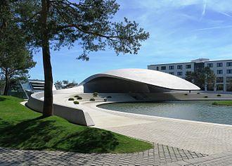 Autostadt - The Porsche pavilion.