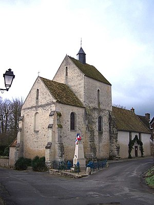 Autouillet - The church