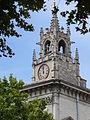 Avignon-Rathausturm oder Glockenturm-Hotel deVille-Rathaus von Avignon 1845-1856 von leon Feucheres erbaut-Place de le Horloge 1..JPG