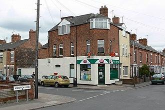 Aylestone - Image: Aylestone Park Post Office geograph.org.uk 732778