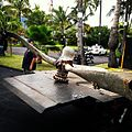 B-17 prop found off Sandy Beach, -oahu. Headed to Hangar 79 -pilot -aviation (9018573019).jpg