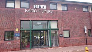 BBC Radio Cumbria - BBC Radio Cumbria's studios in Carlisle.