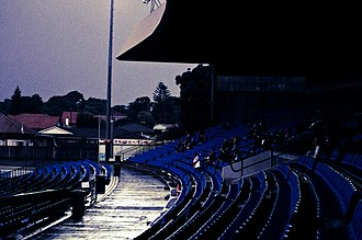Belmore Sports Ground - Image: BELMORE OVAL CONCOURSE